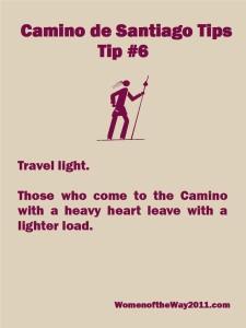 Camino Tips 6