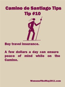 Tip Number 10: Buy travel insurance