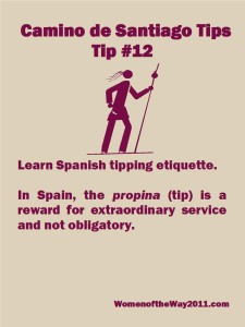 Tip Number 12: Learn Spanish tipping etiquette