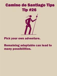 Camino Tips 26