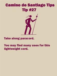 Camino Tips 27
