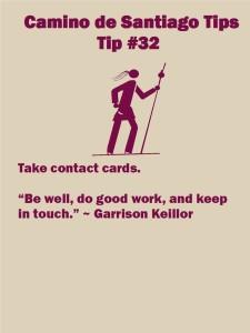 Camino Tips 32