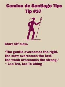 Camino Tips 37
