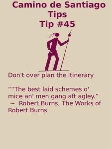 Camino Tips 45