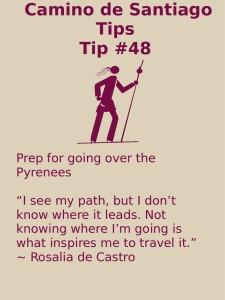 Camino Tips 48